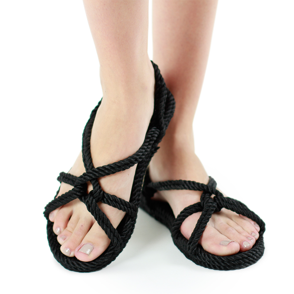Gurkees Rope Sandals - Barbados style