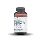 TheraPure Whole Flower Hemp Capsules, 50mg each, 1500mg per bottle, 30ct