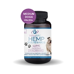 TheraPure Hemp Rewards for Medium Dogs 40-80 lbs, 150mg, 5mg per serving, 30ct - Peanut Butter