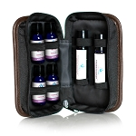 Essential Oil Pocket Presenter Case, Roll-On, 8-Bottle