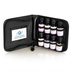 Essential Oil Portfolio, 5-15ml, 8-Bottle
